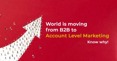 World is moving from B2B to account level marketing, Know Why!